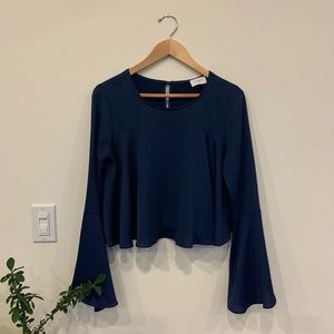 Everly Long-sleeve Blouse